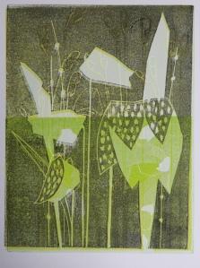 Lino Print 065, Dani Lola